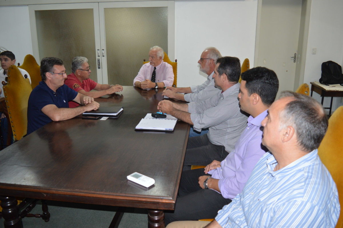 Todeschini visita o Executivo Municipal de Cachoeira do Sul